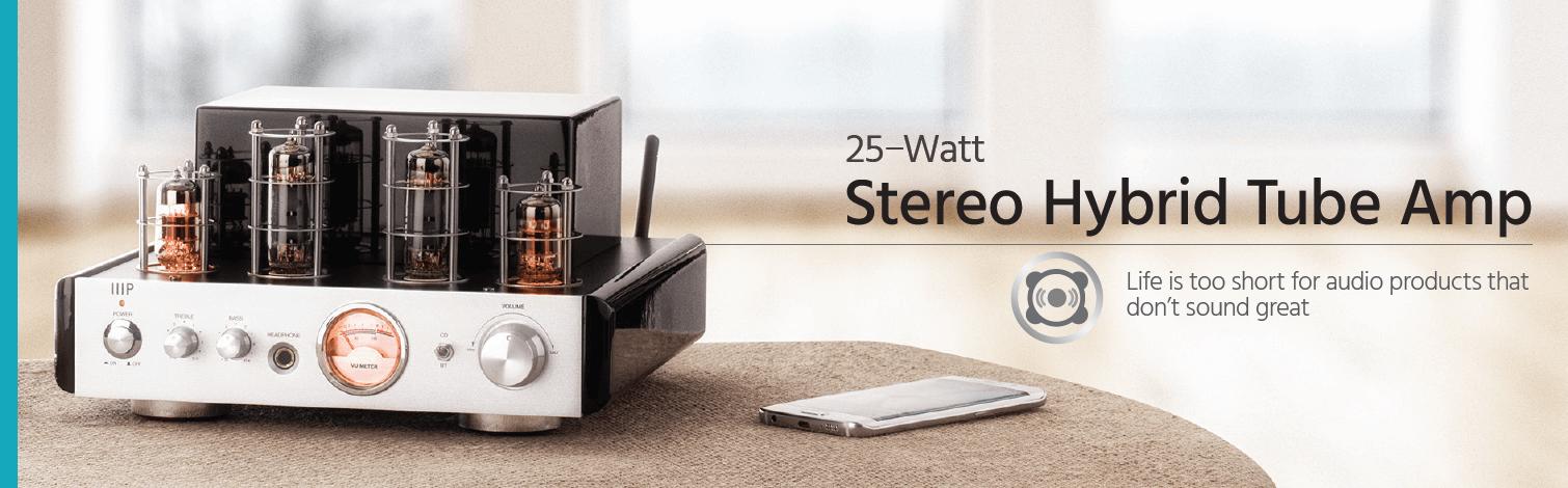 25-Watt Stereo Hybrid Tube Amp