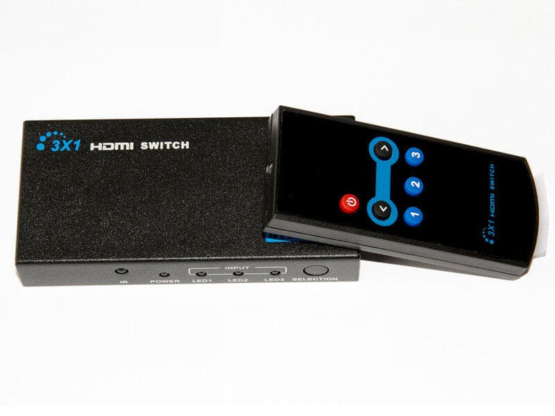 4K 3x1 HDMI Switch