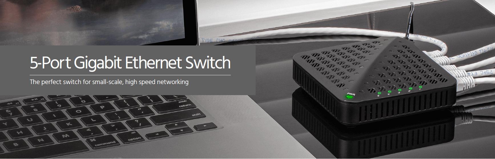 5-Port Gigabit Switch