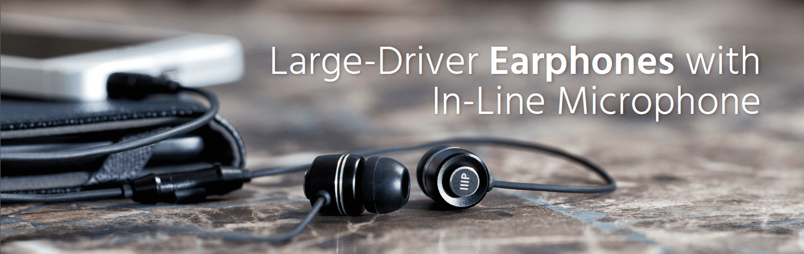 Large-Driver Earphones