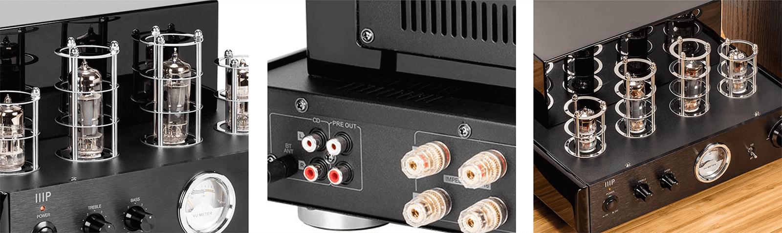 Compact Stereo Hybrid 15-Watt Tube Amp with Bluetooth