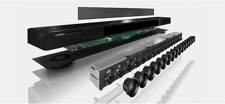 Yamaha Ats  Bluetooth Wireless Sound Bar Connect To Sub