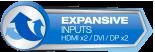 Expansive Inputs