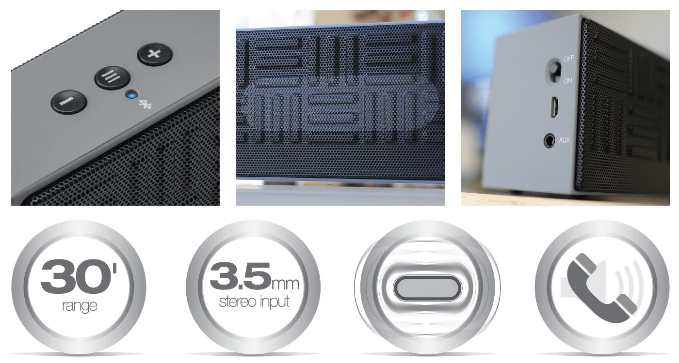 Mini-Melody Bluetooth Speaker