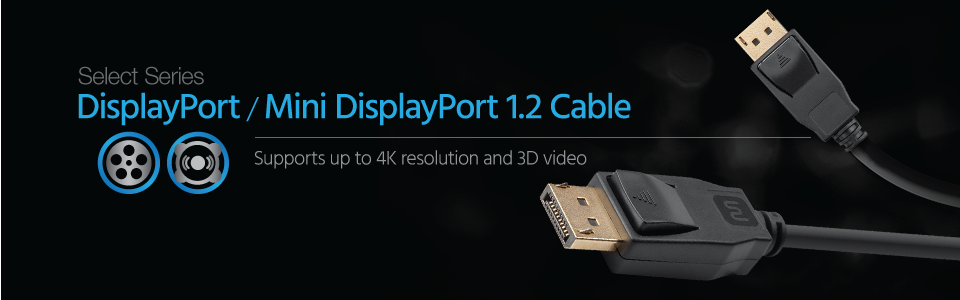 Select Series DisplayPort 1.2 Cable