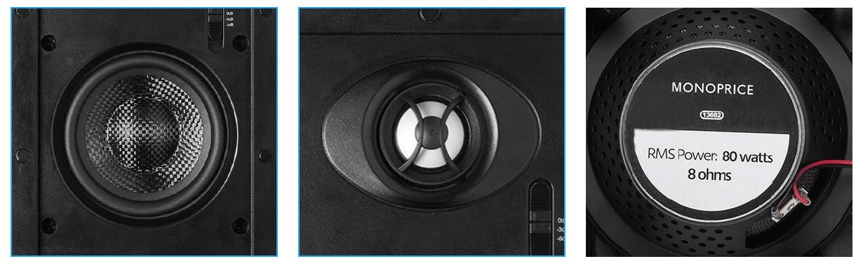 8-inch Carbon Fiber In-Wall Speaker