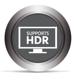 Supports HDR
