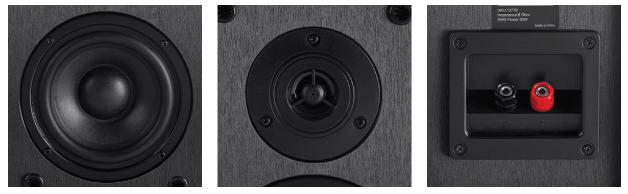 Select 4-inch 2-Way Bookshelf Speakers