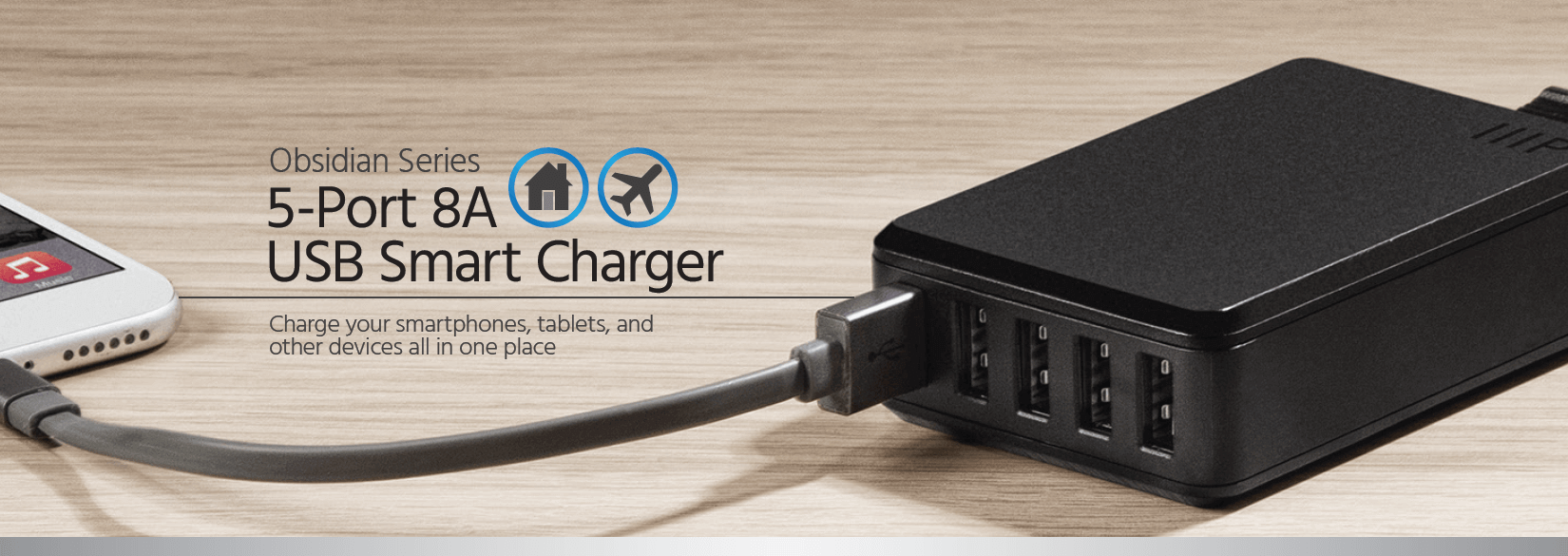 5-Port USB Charger