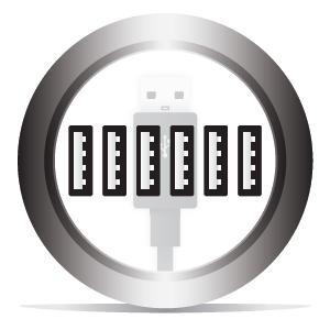 6 USB Ports