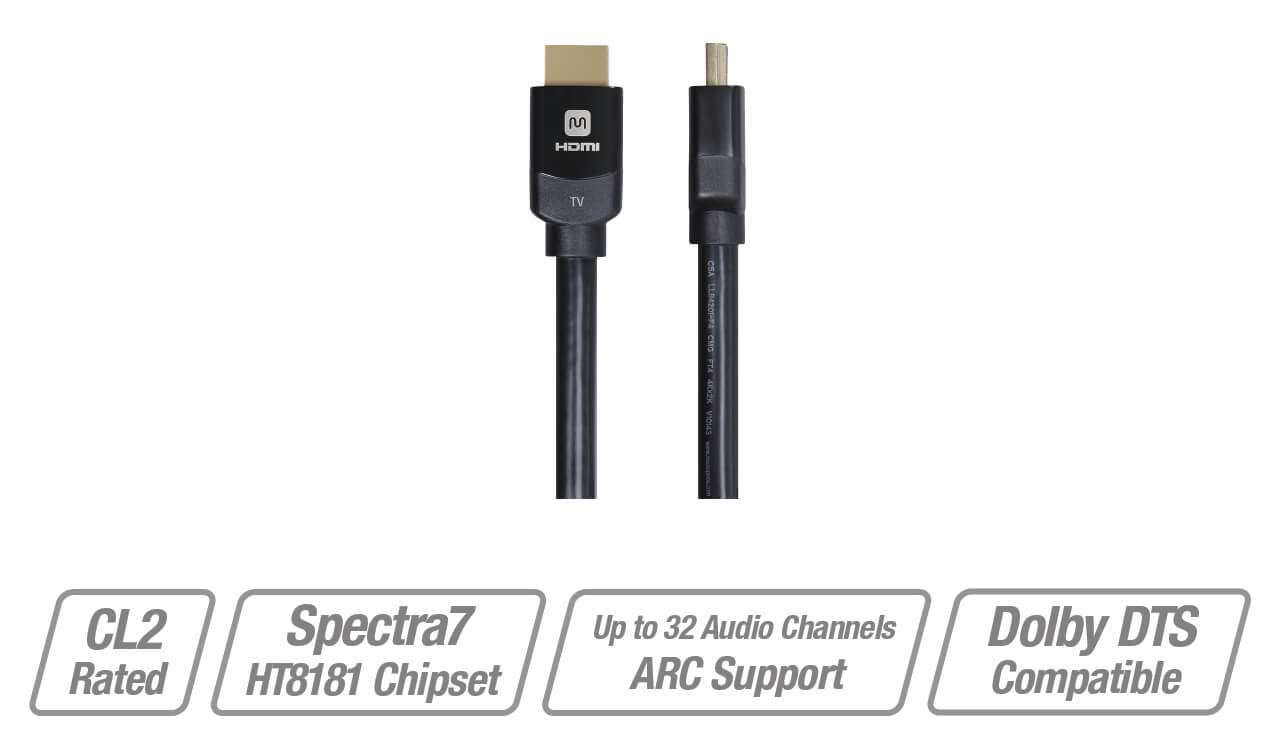 Monoprice Dynamicview Active High Speed Hdmi Cable 4k