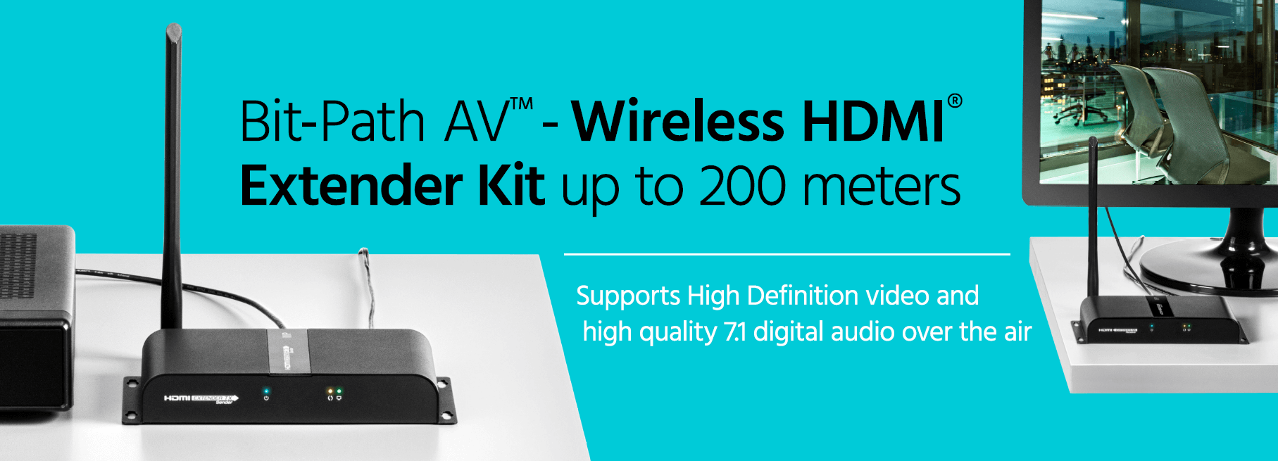 Bit-Path AV Wireless HDMI Extender Kit