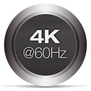 Supports 4K@60Hz