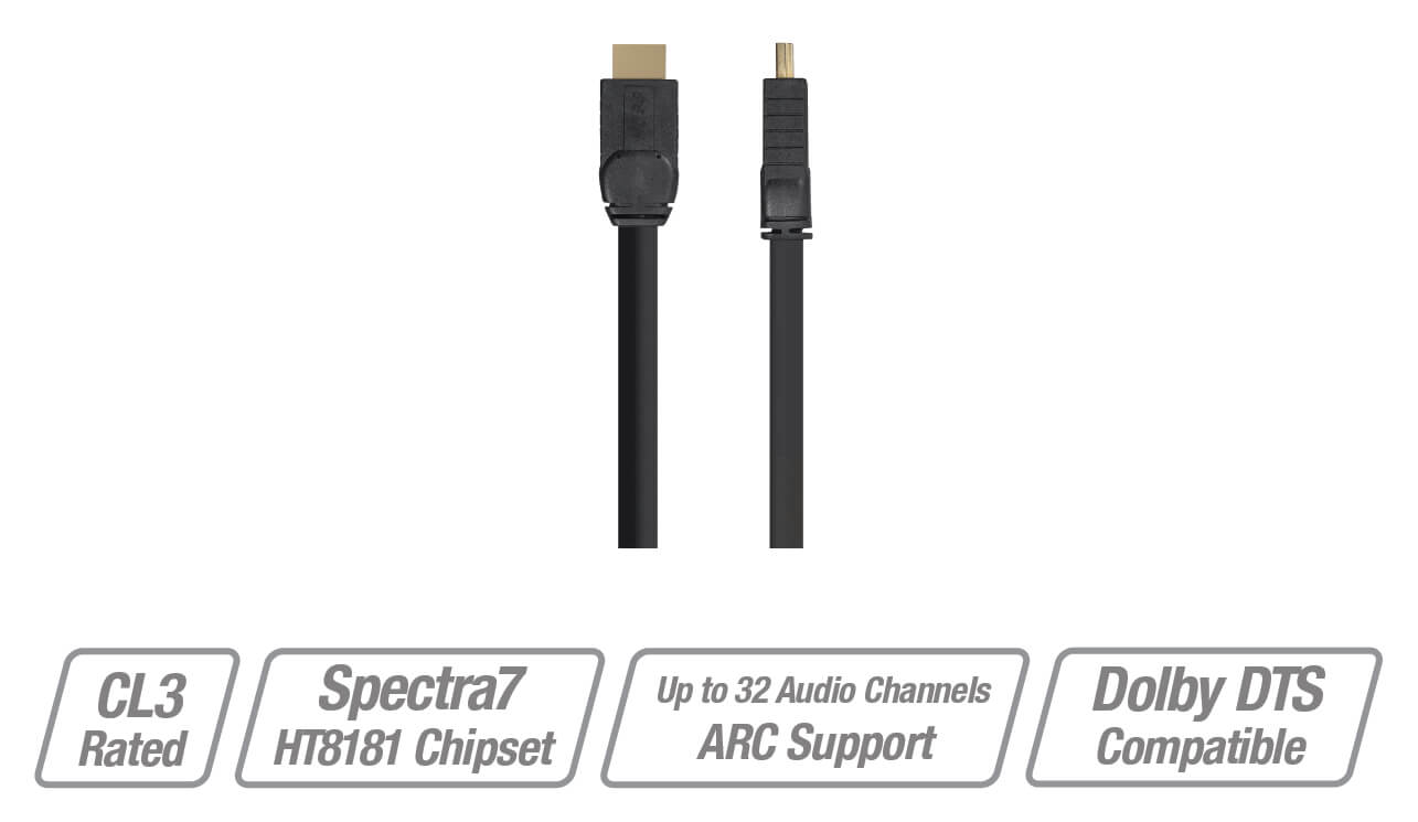 HOSS Installer Grade Active High Speed HDMI Cable
