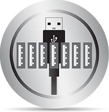 7-Port USB Hub