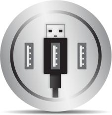 3-Port USB Hub