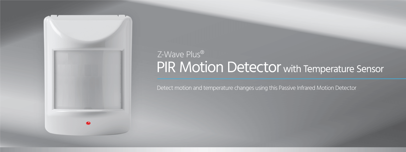 Z-Wave Plus PIR Motion Detector