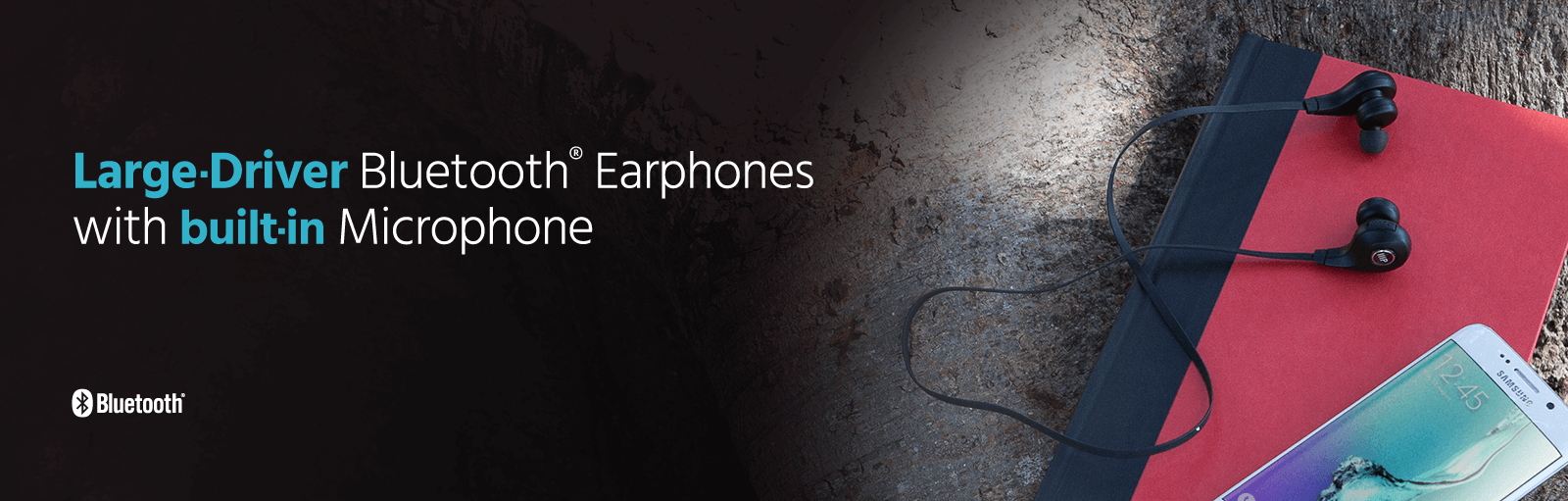 Large-Driver Bluetooth Earphones