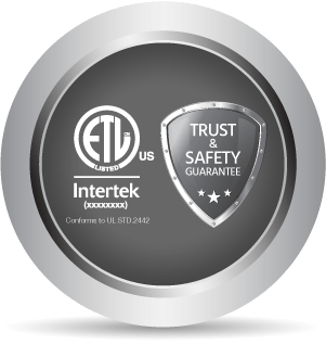 ETL Certified SafetyYou Can Trust