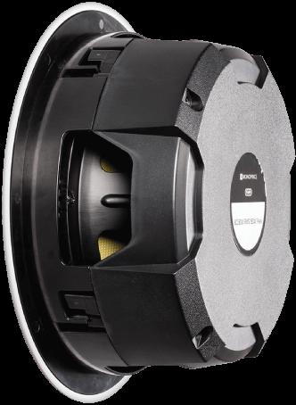 Black Back 6.5-inch Two-way In-Ceiling Speaker