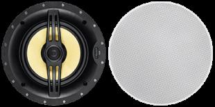 Black Back 8-inch Two-way In-Ceiling Speaker