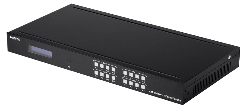 Blackbird 4K HDBaseT 4x4 Matrix