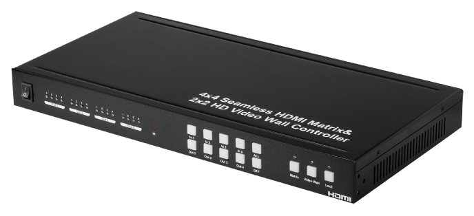 Blackbird 4x4 HDMI Seamless Switching Matrix