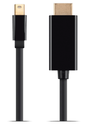 Mini DisplayPort 1.2a to HDTV 4K Capable Cable