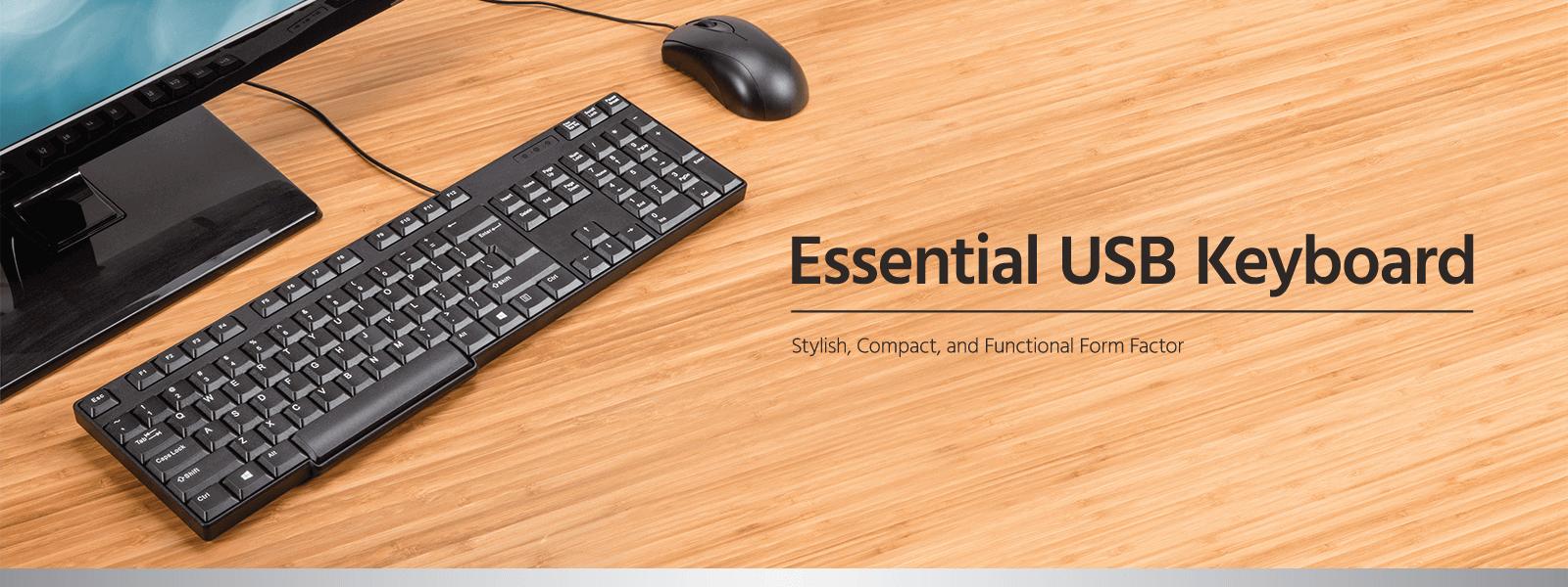Essential USB Keyboard