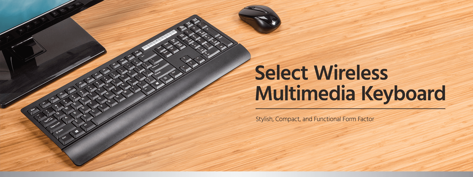 Select Wireless Multimedia Keyboard