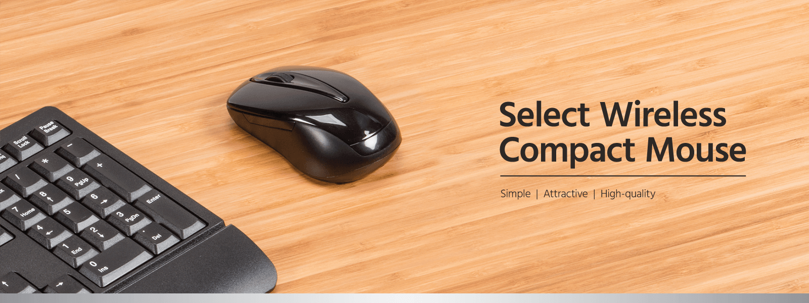 Select Wireless Compact Mouse