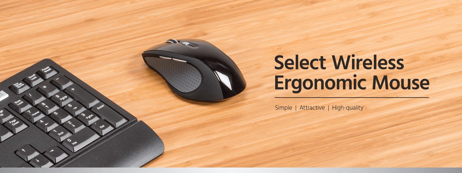 Select Wireless Ergonomic Mouse