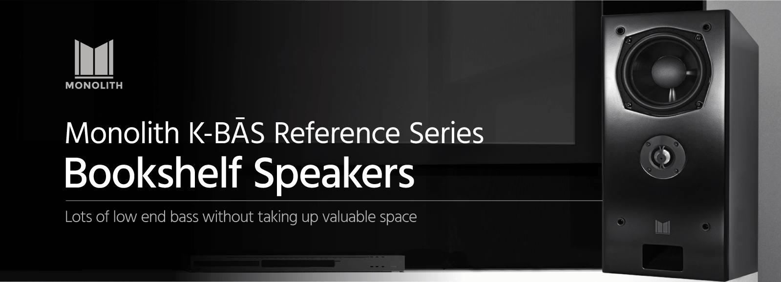 K-BAS Reference Series Bookshelf Speakers