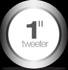 1-inch tweeter