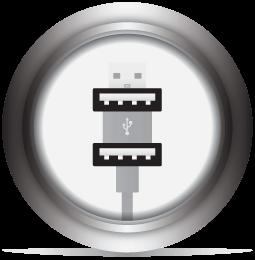 2x USB Ports