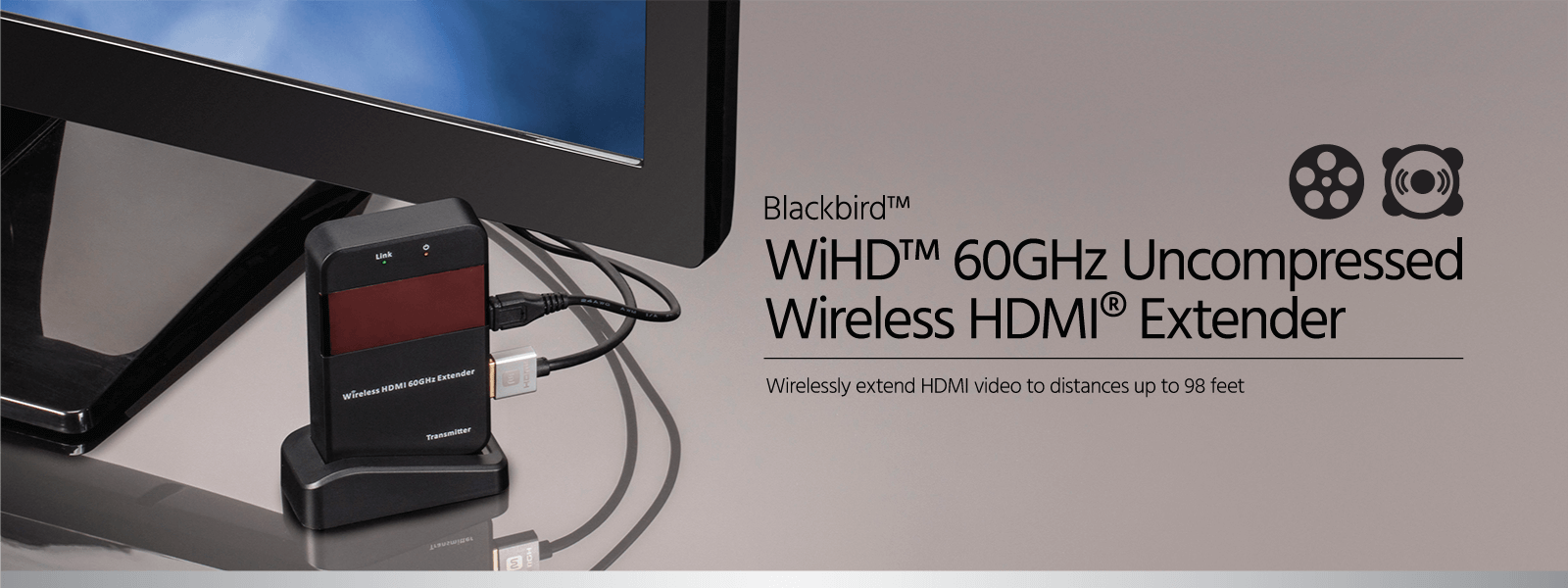 Blackbird WiHD Wireless HDMI Extender