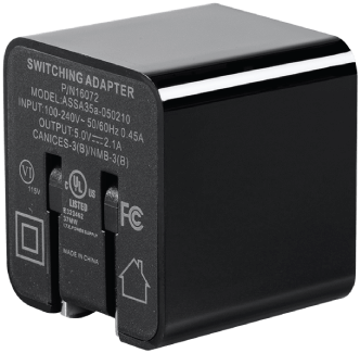 2.1-Port 1A USB Wall Charger