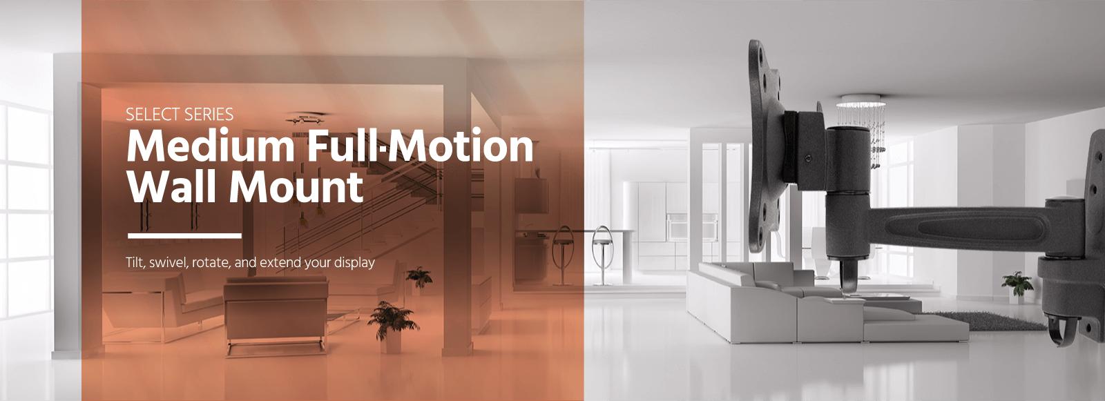 Medium Full-Motion Wall Mount