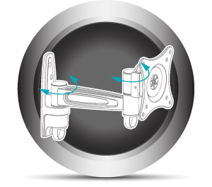 Double Swivel Design