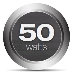 Monoprice 50 Watt Stereo Hybrid Tube Amplifier With Bluetooth Line Watts Audio Power Channel Class Ab