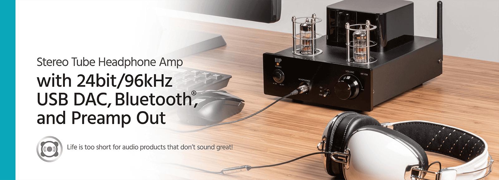 Stereo Tube Headphone Amp
