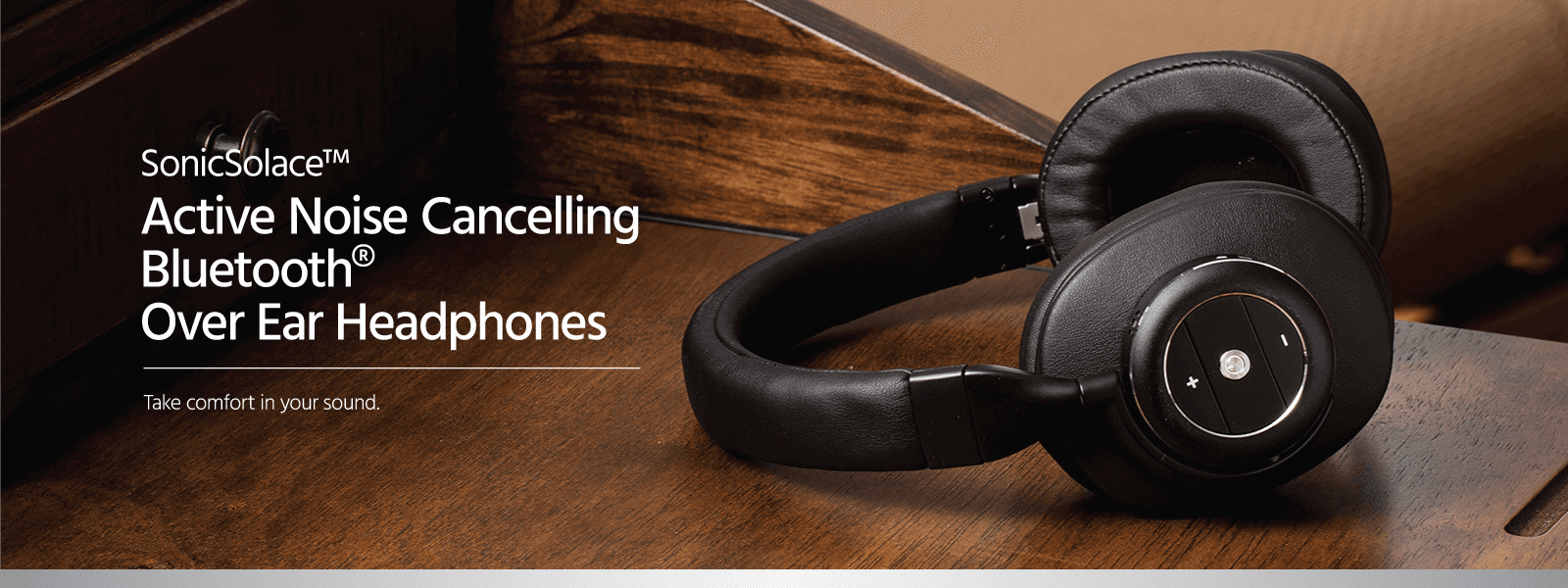 ANC Bluetooth Over Ear Headphones