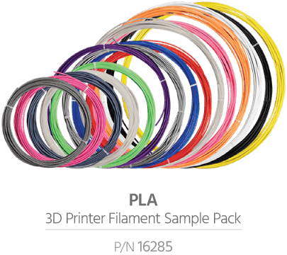 PLA Sample Pack