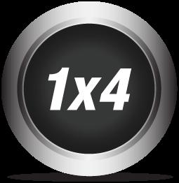 1x4 Splitter/Extender