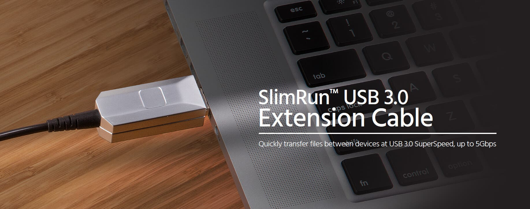 SlimRun USB 3.0 Extension Cable