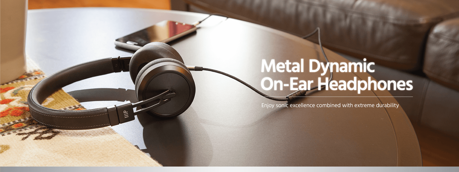 Metal Dynamic On-Ear Headphones