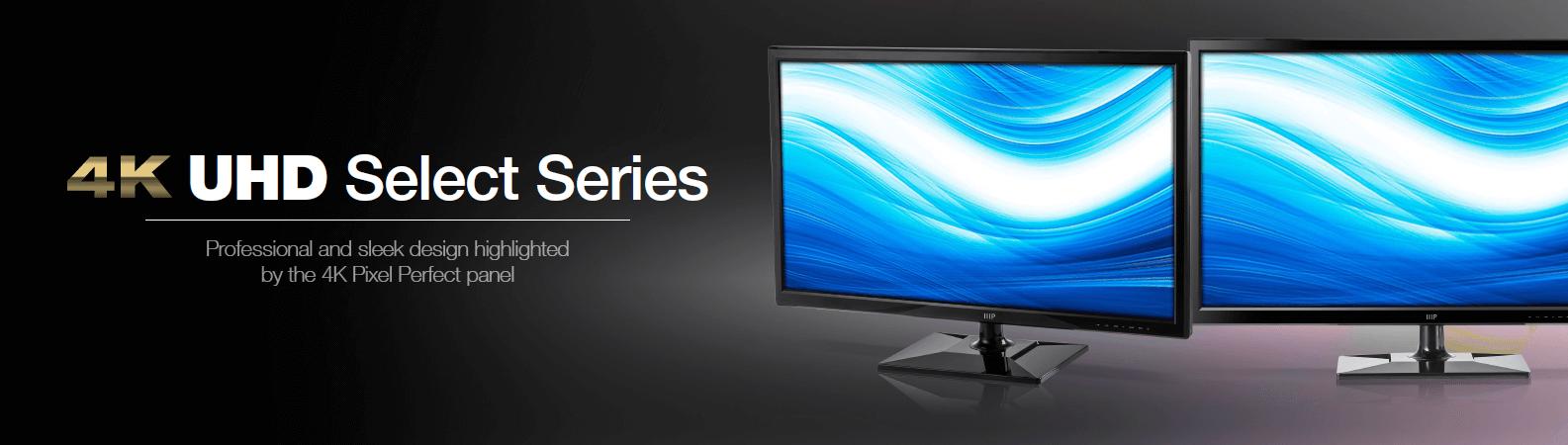 28-inch 4K UHD PixelPerfect Monitor