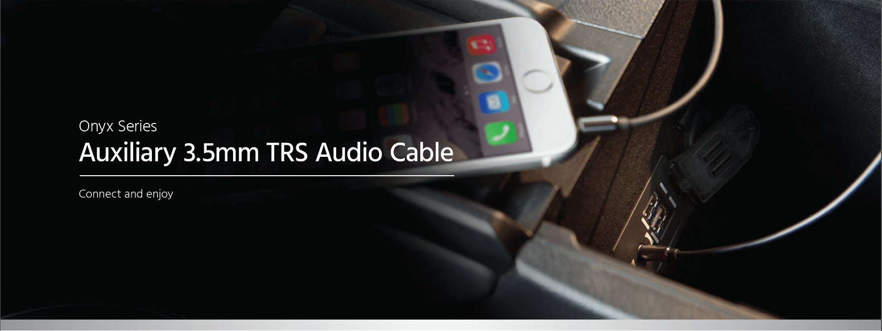 Auxiliary 3.5mm TRS Audio Cable