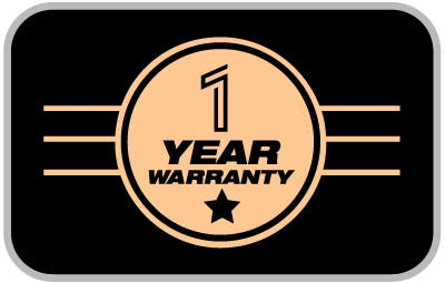 1 Year Warranty. Monoprice not only stands behind this product with a 1 year replacement warranty, we offer a 30 day money back guarantee as well! If the product you purchase does not satisfy your needs, send it back for a full refund.