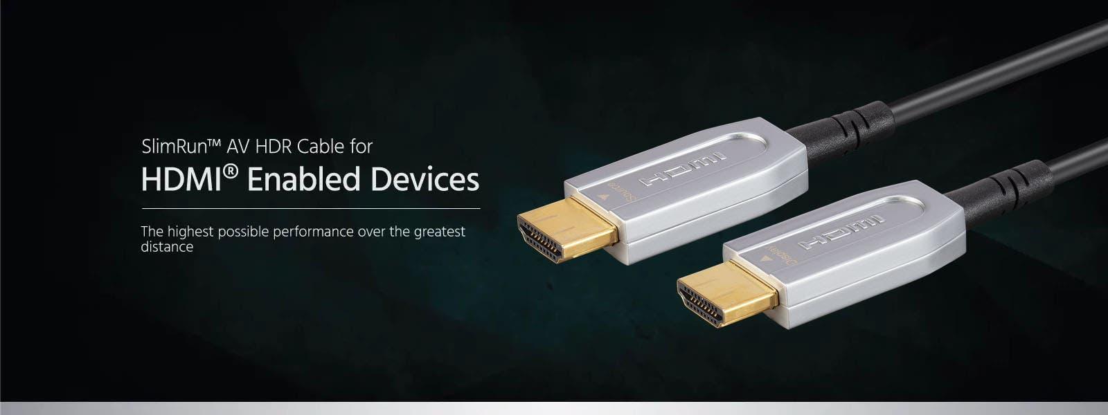 SlimRun AV HDR Cable